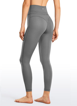 "Naked Feeling Soft Leggings 25"" - Reflective Waistband"
