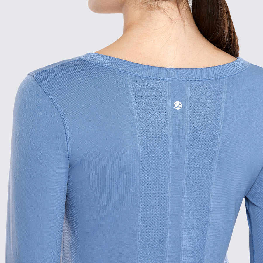 Speedy Seamless Long Sleeves Relaxed Fit - CRZ YOGA