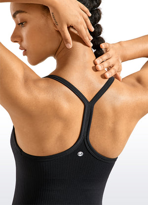 Speedy Seamless Y-back Tank Built in Bra