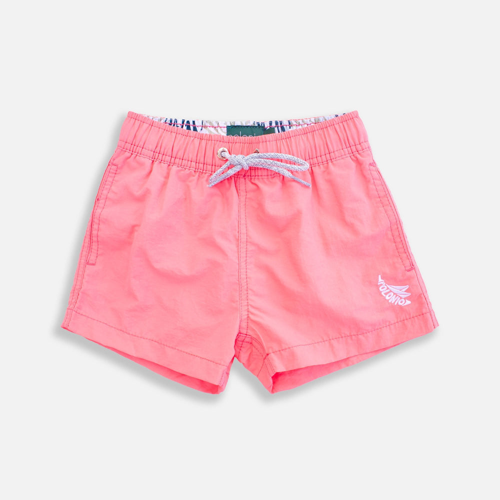 Boys Trunk - Boys Crinkle Nylon Swim Trunks