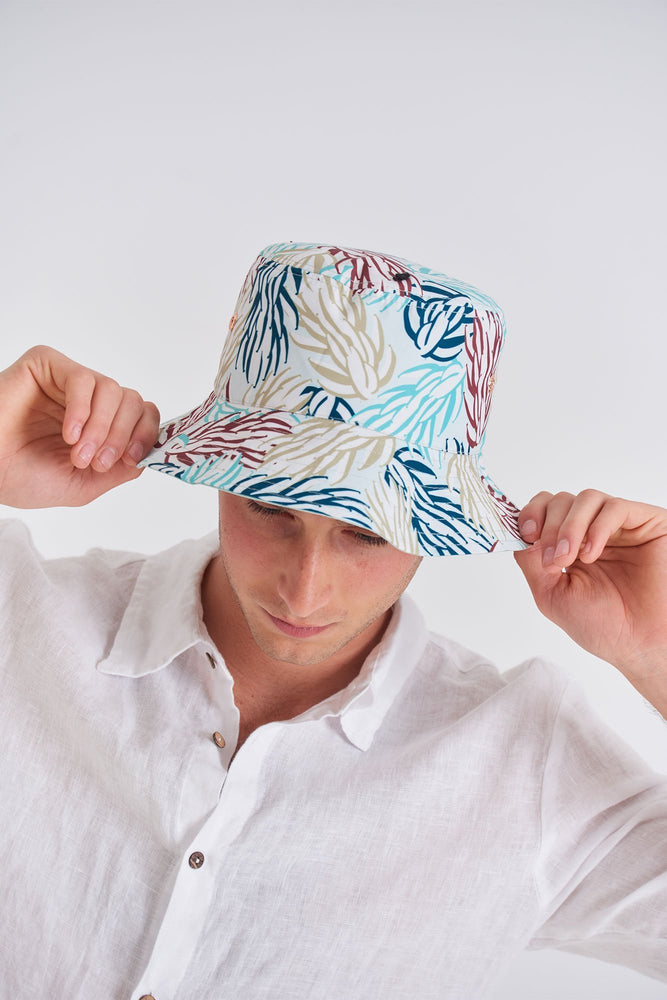Load image into Gallery viewer, Bucket Hat - Reversible Bucket Hat