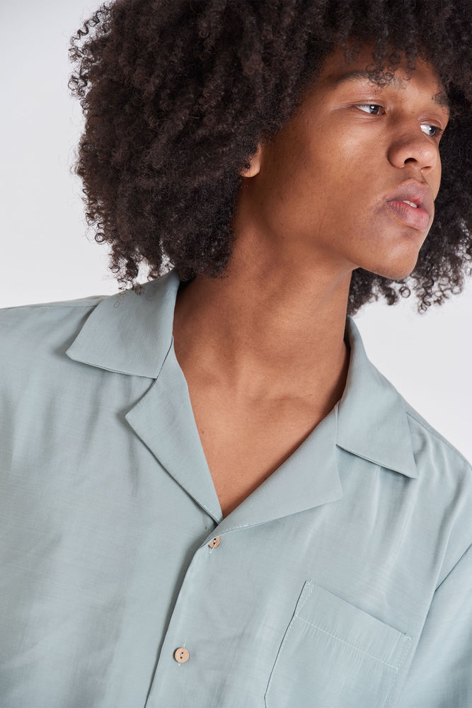 Camp-Collar Shirt