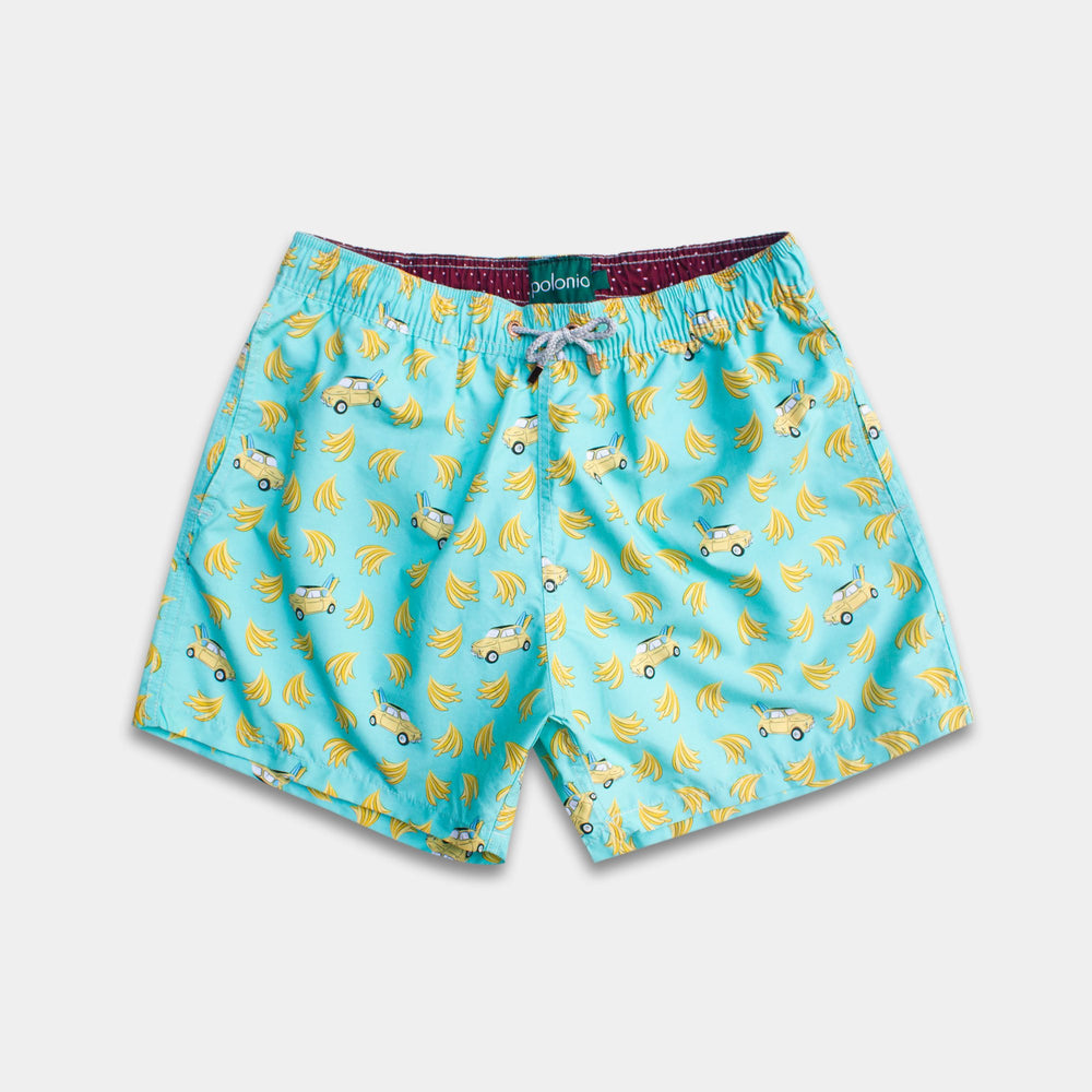 Classic - Banana Car Swim Trunks