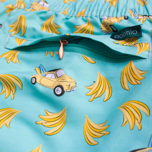 Load image into Gallery viewer, Classic - Banana Car Swim Trunks