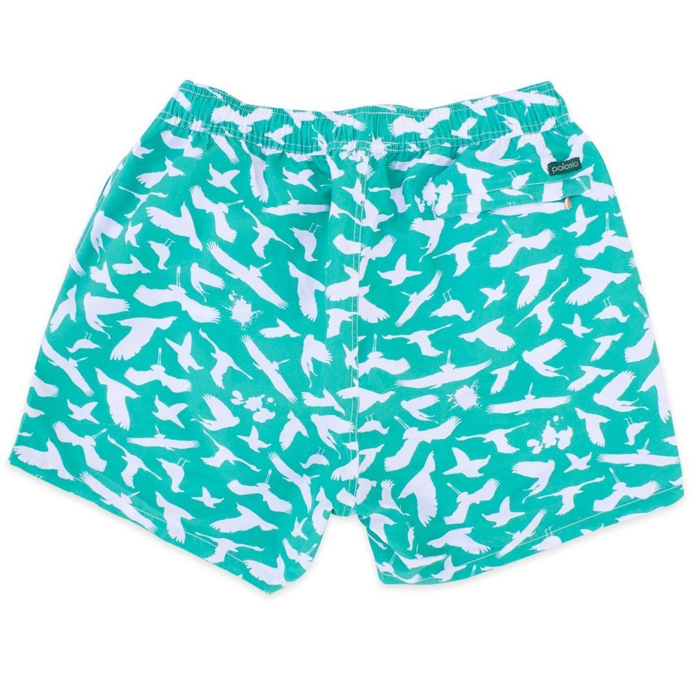 Classic - Bird Poop Swim Trunks