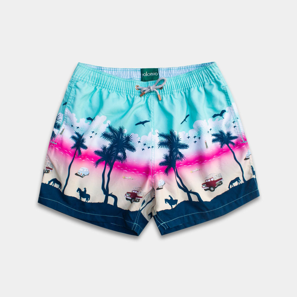 Classic - Cabo Sunset Swim Trunks