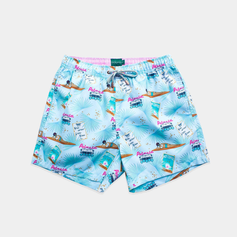 Classic - Café Polonio Swim Trunks