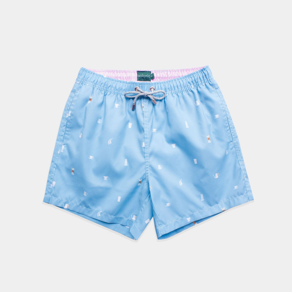 Classic - Coffee Snob Swim Trunks