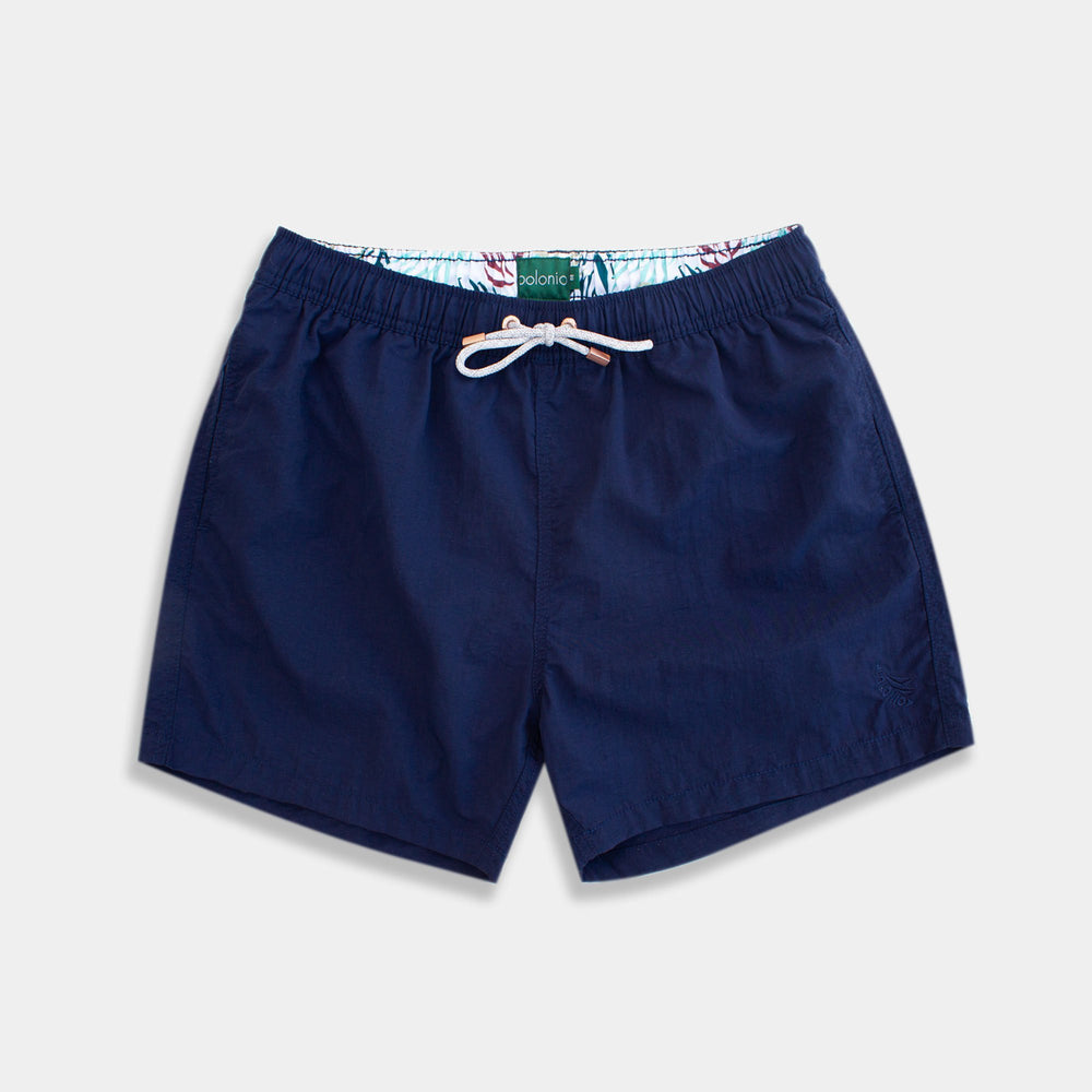 Classic - Crinkle Nylon Swim Trunks