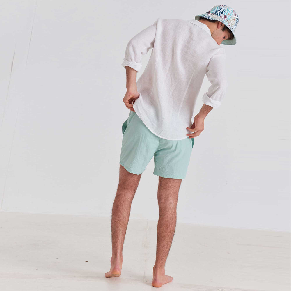 Load image into Gallery viewer, Classic - Crinkle Nylon Swim Trunks