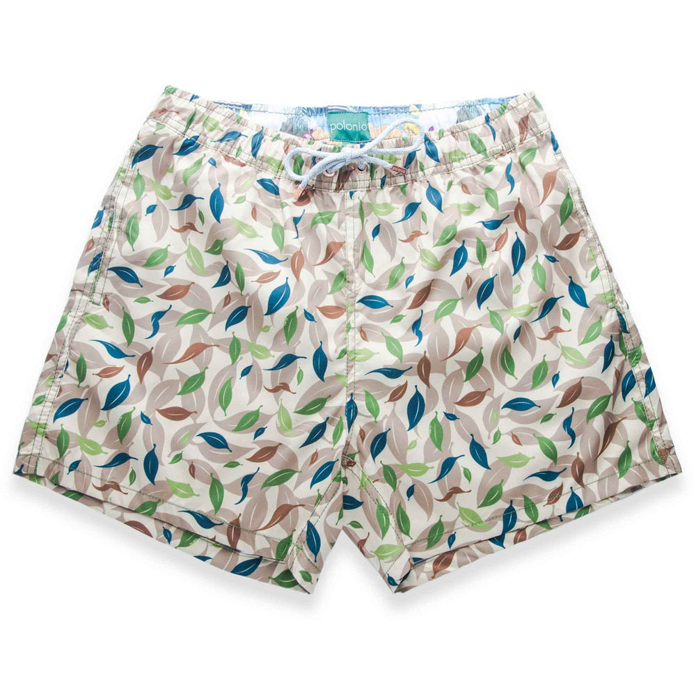 Load image into Gallery viewer, Classic - Leaf Camo Swim Trunks