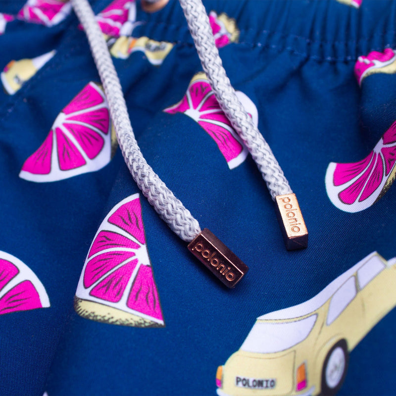 Classic - Pomelo Car Swim Trunks