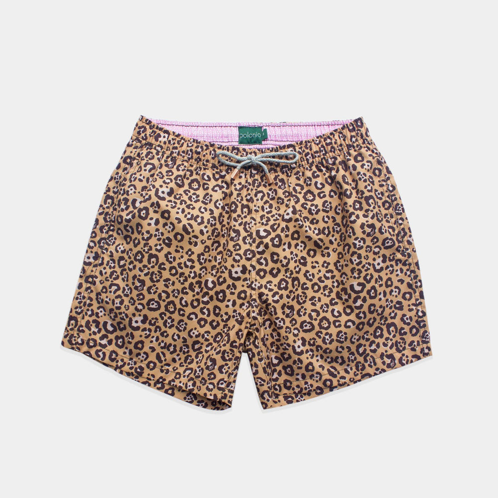 Classic - Spotted Swim Trunks