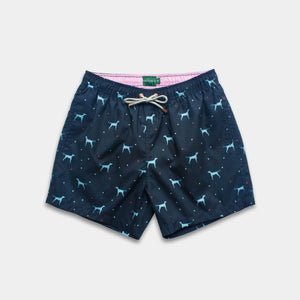 Load image into Gallery viewer, Classic - Tinta The Vizsla Swim Trunks