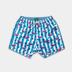 Load image into Gallery viewer, Classic - Vintage Racer Swim Trunks