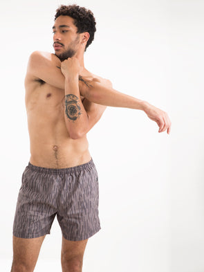 Grey Rains Runner Swim Shorts