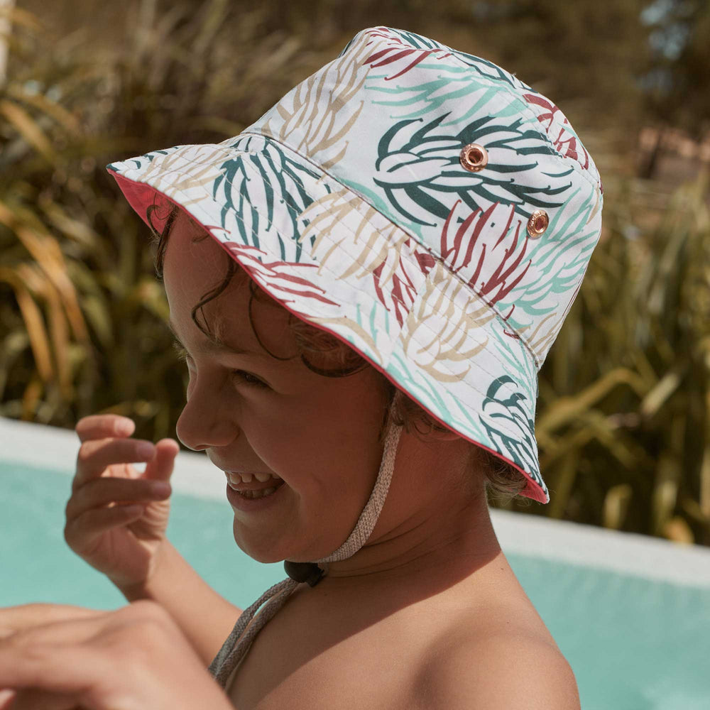 Load image into Gallery viewer, Kids Bucket Hat - Kids Reversible Bucket Hat