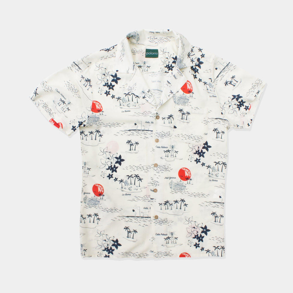 La Isla Camp-Collar Shirt