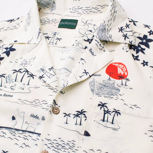Load image into Gallery viewer, La Isla Camp-Collar Shirt