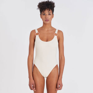 Load image into Gallery viewer, One Piece - 80's Ring One Piece Swimsuit