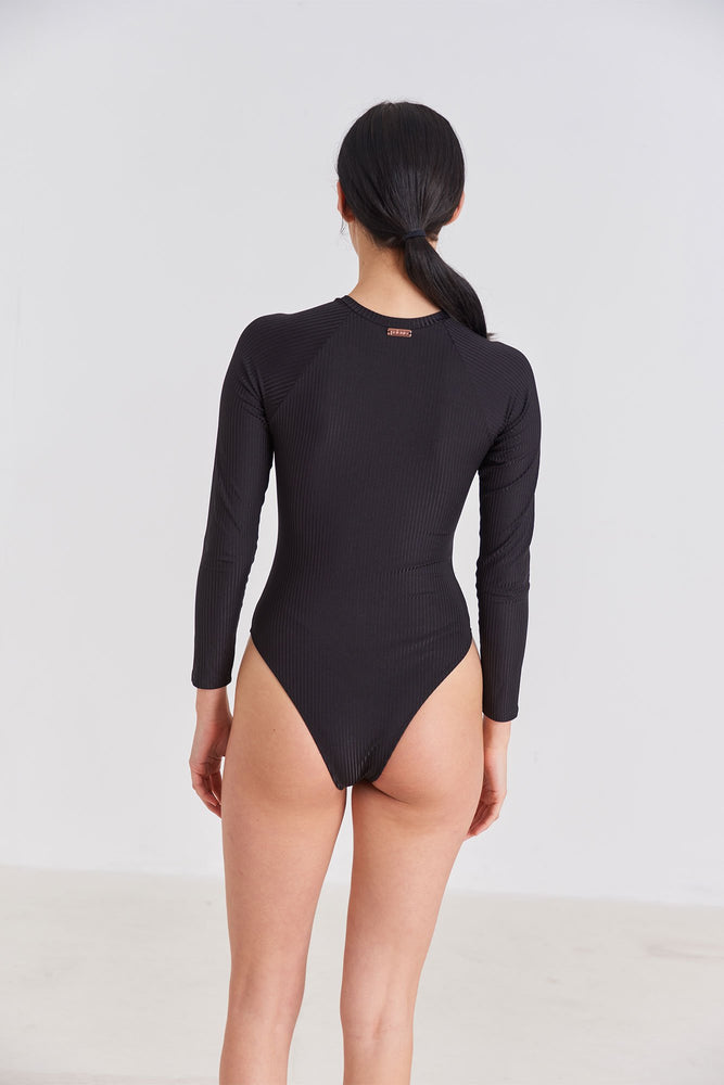 Load image into Gallery viewer, One Piece - Long Sleeve One Piece Swimsuit