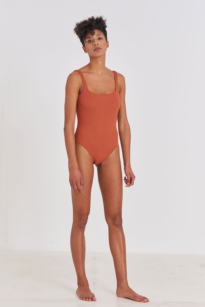 One Piece - Square One Piece Swimsuit