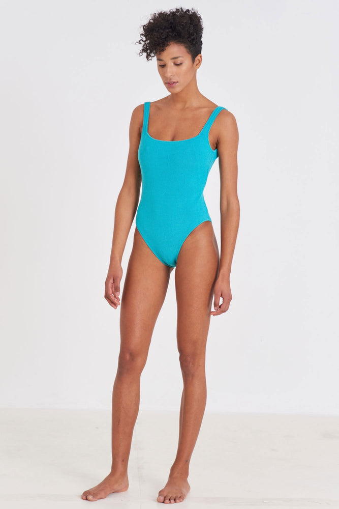 Load image into Gallery viewer, One Piece - Square One Piece Swimsuit