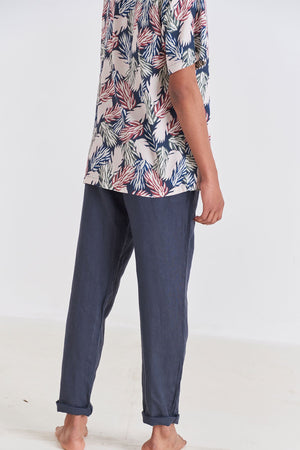 Load image into Gallery viewer, Pant - Tailored Linen Pant