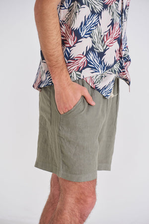 Load image into Gallery viewer, Short De Lino - Tailored Linen Shorts