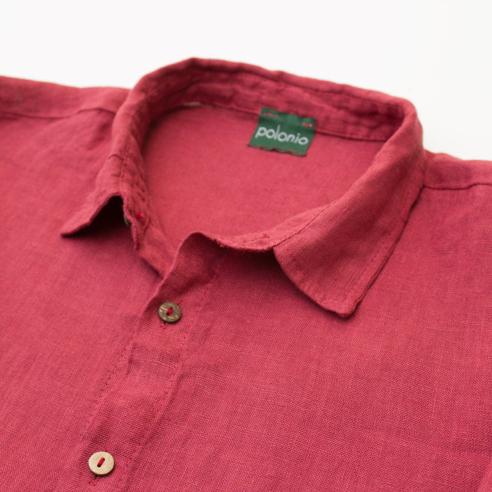 Load image into Gallery viewer, Slim Fit Linen Shirt