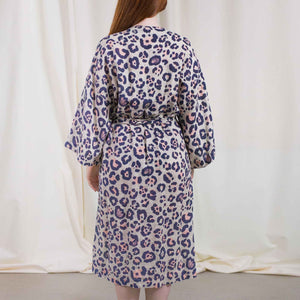Load image into Gallery viewer, Spotted Linen Kimono
