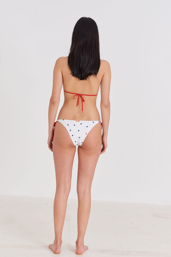 Load image into Gallery viewer, Strawberry - Triangle Bikini Top