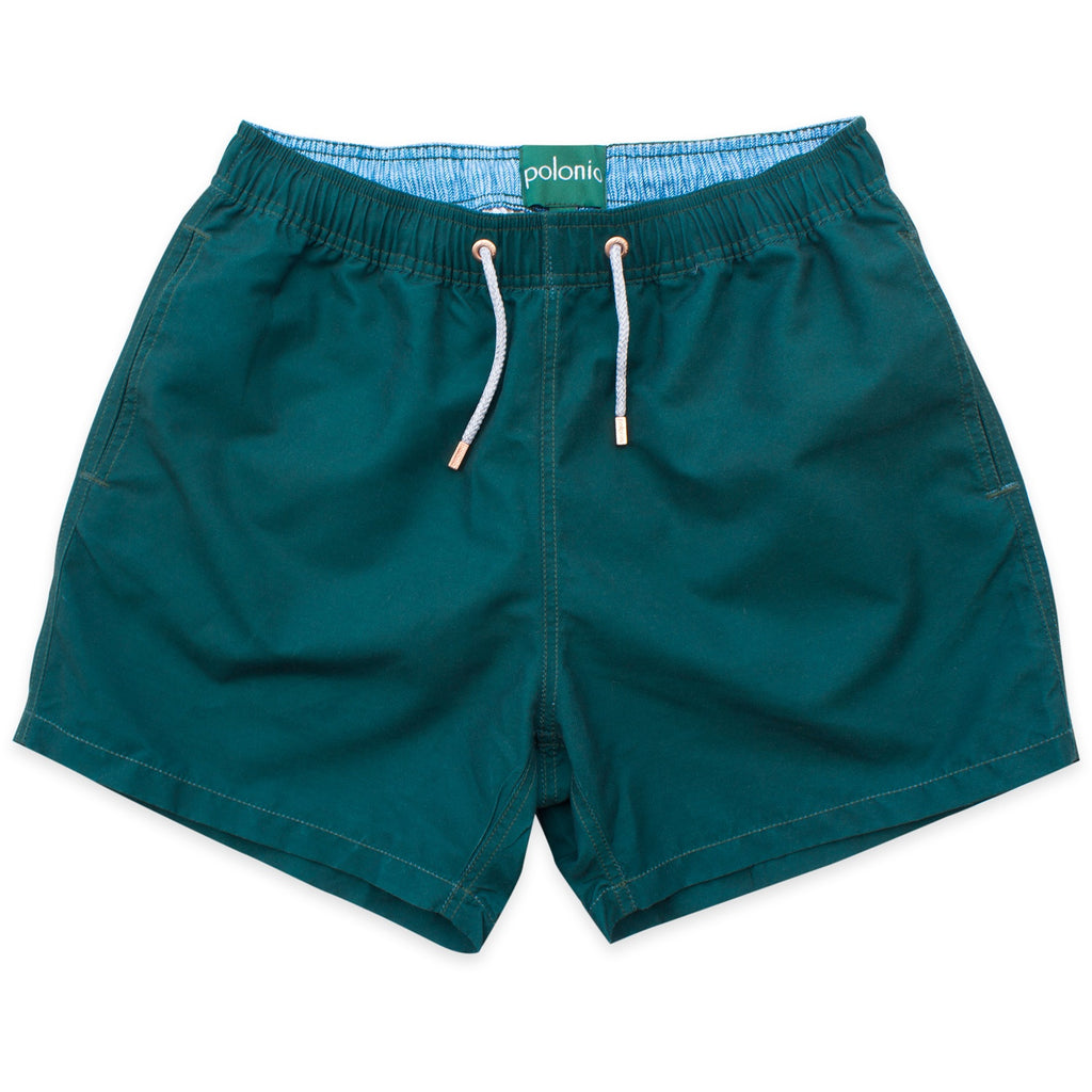 Swim Shorts - Gents Swim Shorts (Polonio Green)