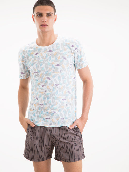T-Shirt - Leaf Camo Pima Cotton T-Shirt