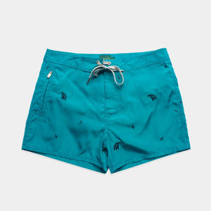 Load image into Gallery viewer, Trunk - Embroidered Swim Trunks