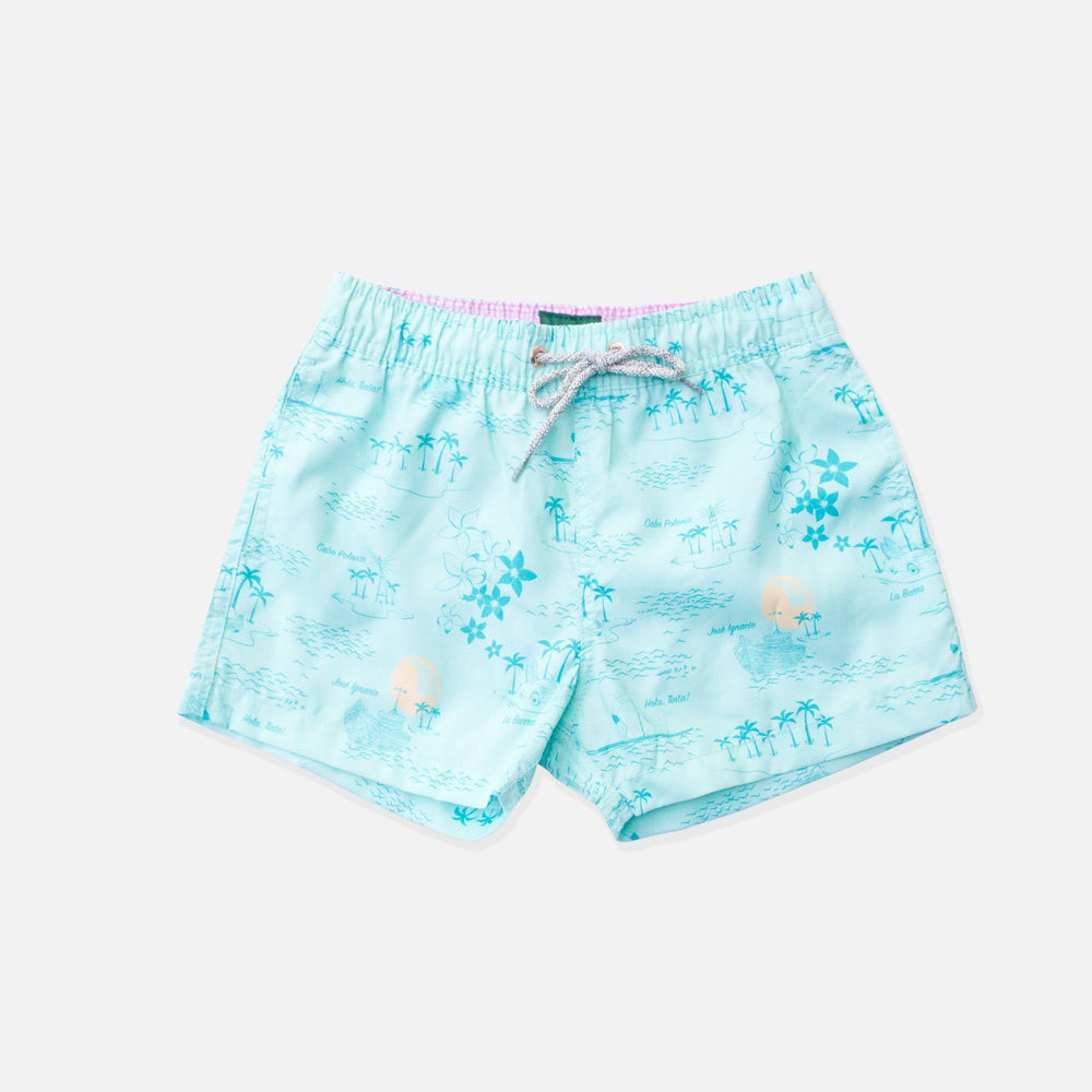 Trunk - La Isla Boys Swim Trunks