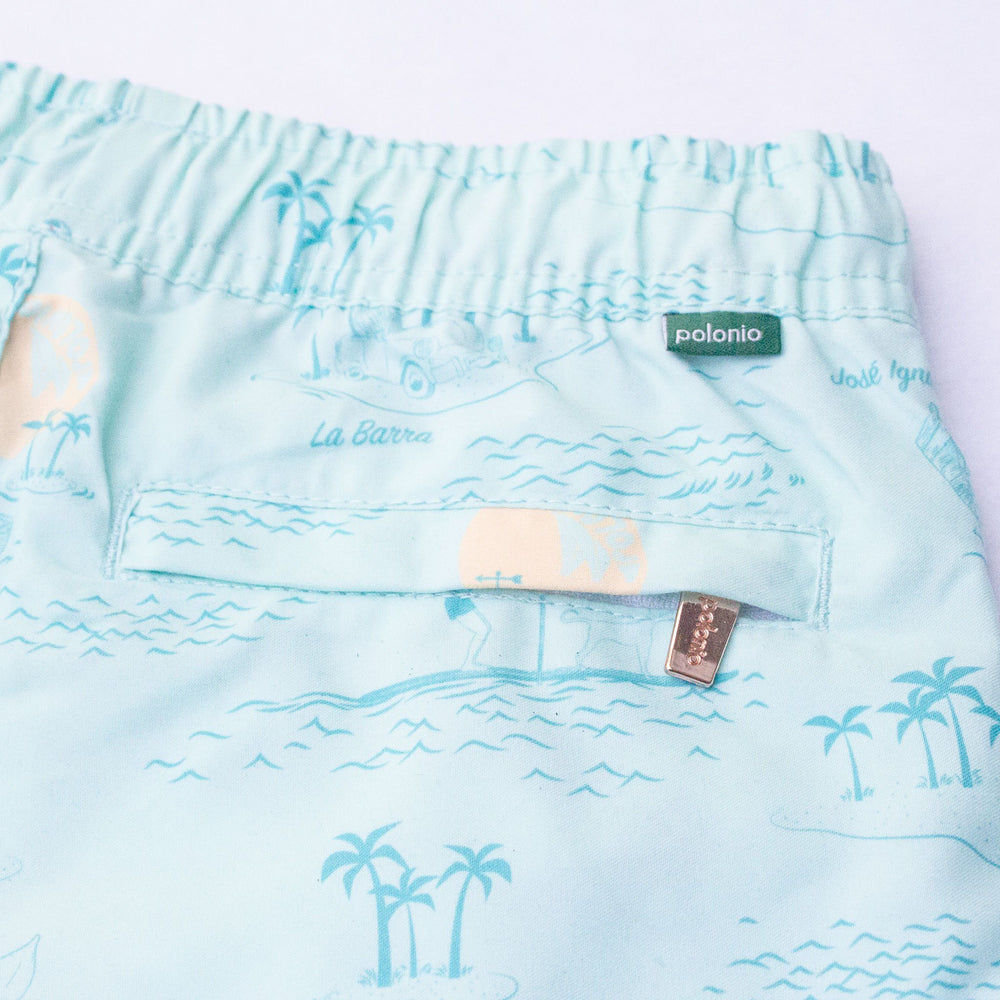 Load image into Gallery viewer, Trunk - La Isla Boys Swim Trunks