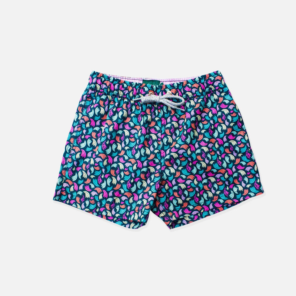 Trunk - Platanos Boys Swim Trunks