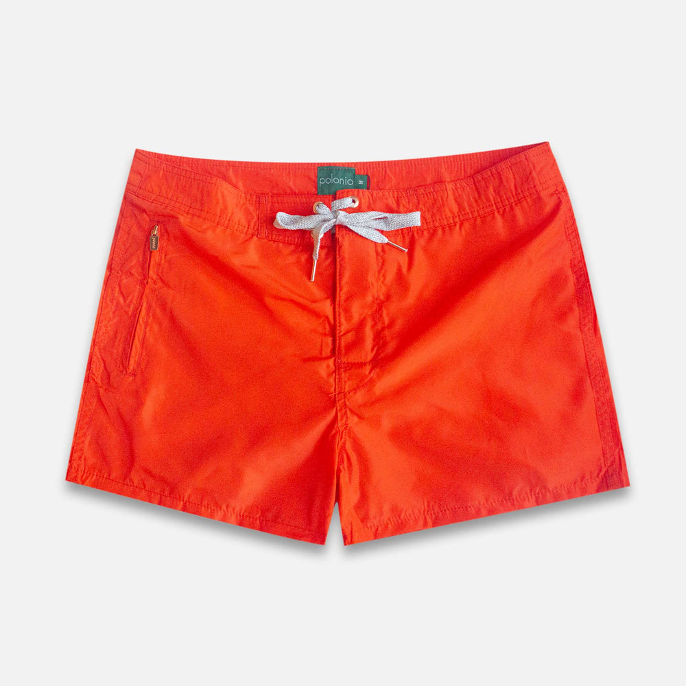 Trunk - Spicy Orange Swim Trunks