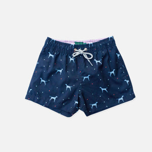 Load image into Gallery viewer, Trunk - Tinta The Vizsla Boys Swim Trunks