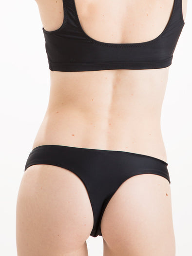 Womens - Brazilian Bottom Black