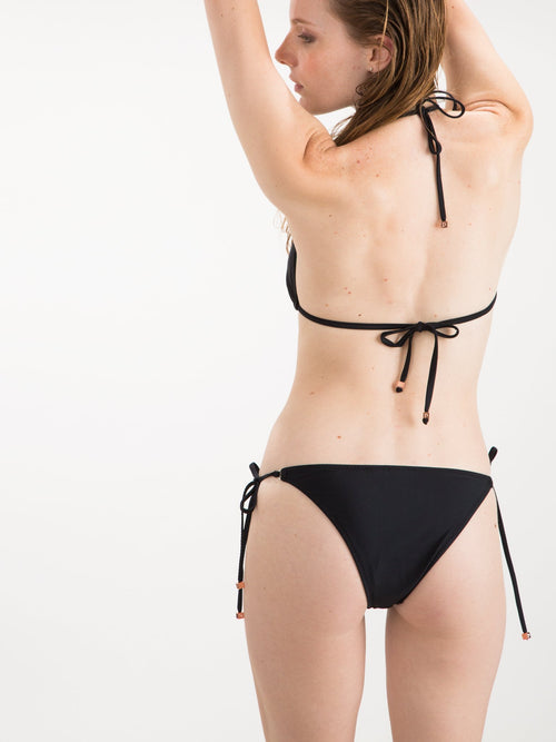 Womens - String Bottom Black