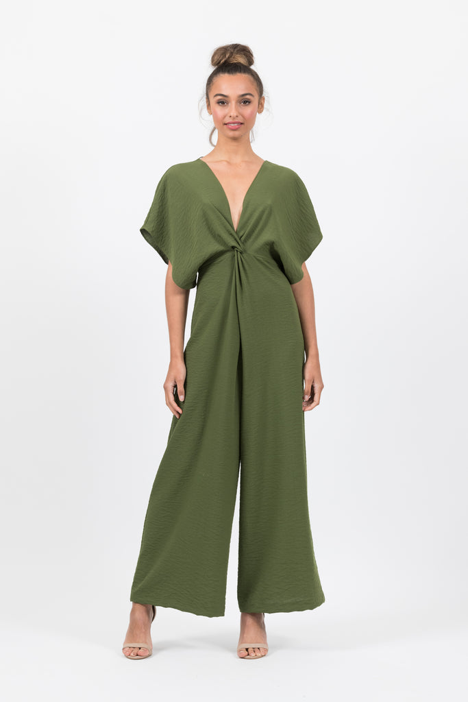 Provence Jumpsuit in Herb