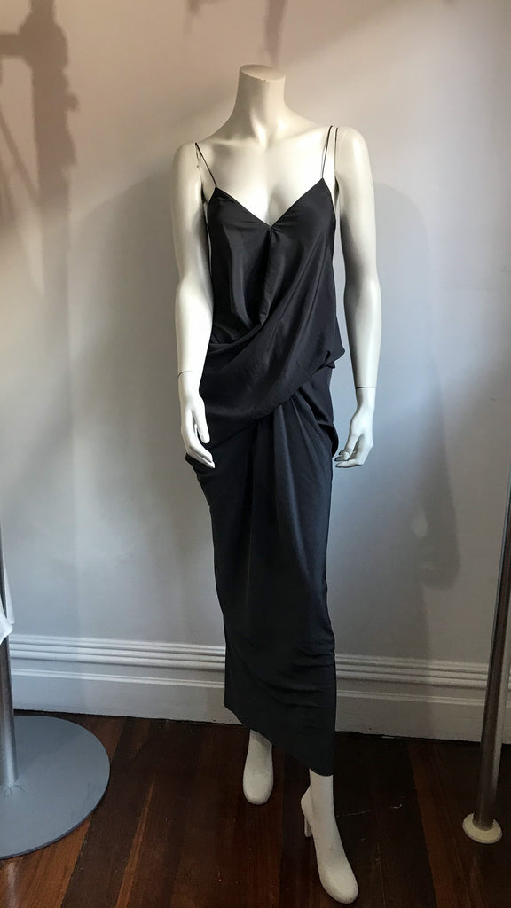 Gallo Gown in Charcoal