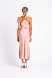 MUSE DRESS IN DUSTY ROSE PO