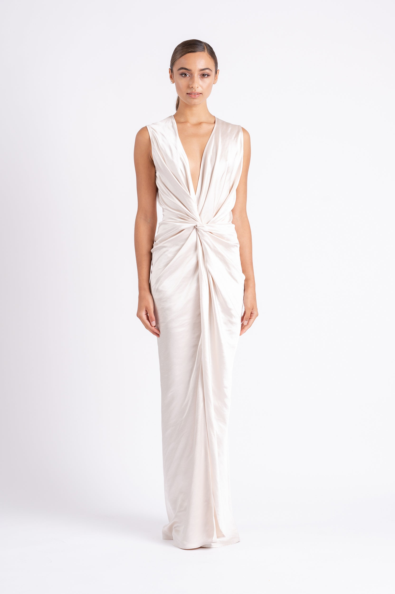 MONROE MAXI IN MOTHER OF PEARL