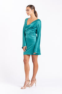 GIA DRESS IN JADE