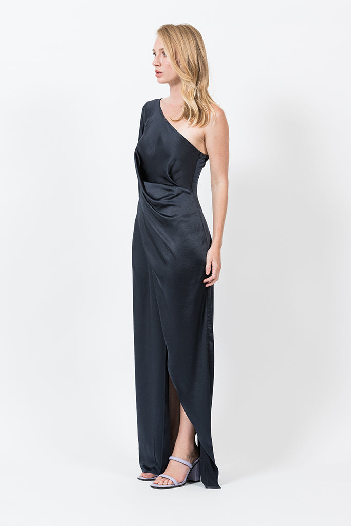SCARLETT MAXI IN NAVY