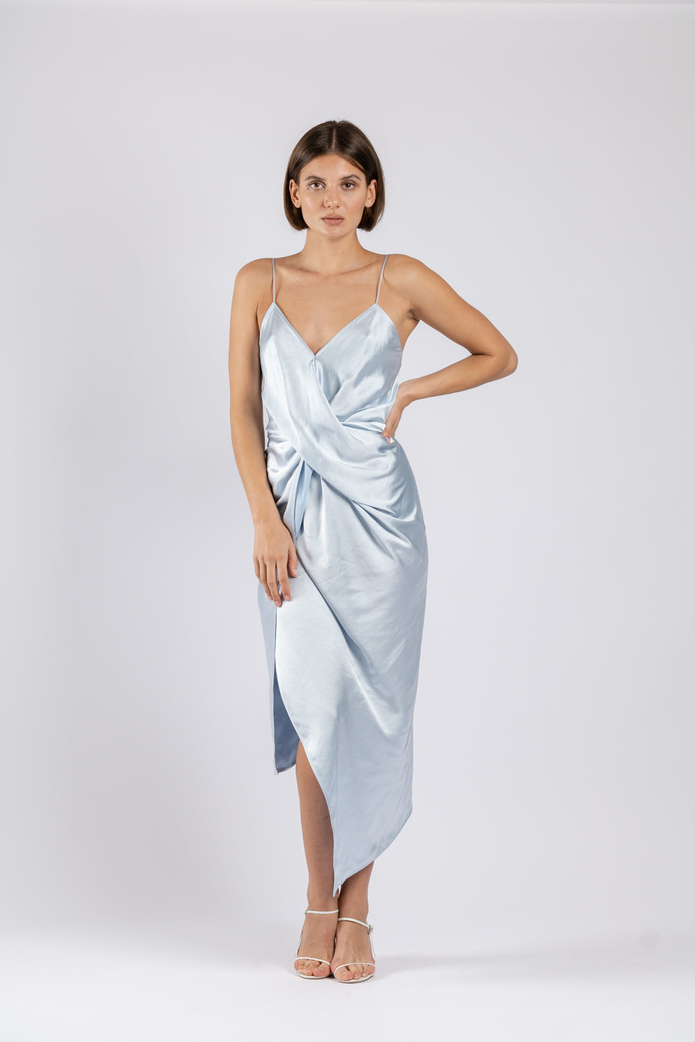 LE LUXE MIDI IN SKY BLUE PO
