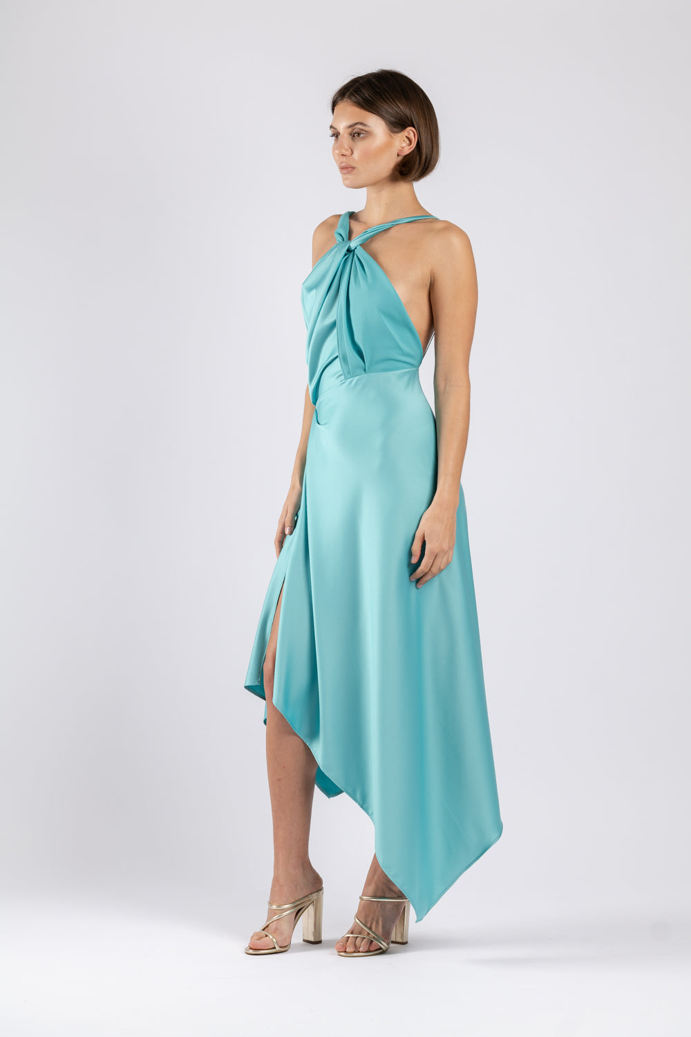 AUDREY DRESS IN MARINE